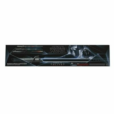 PREORDER 2021-08 Star Wars - The Black Series - Force FX Elite Darksaber Lightsaber Prop Replica