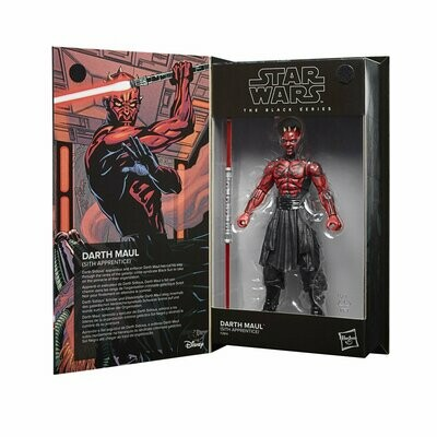 PREORDER 2021-07 Star Wars - The Black Series 6-Inch - Darth Maul (Sith Apprentice)