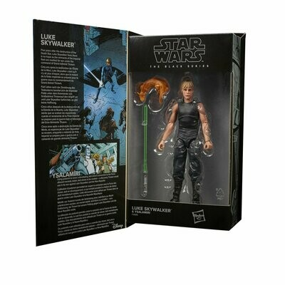 PREORDER 2021-07 Star Wars - The Black Series 6-Inch - Luke Skywalker & Ysalamiri