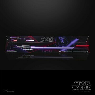 Star Wars - The Black Series - Force FX Elite Darth Revan Lightsaber Prop Replica