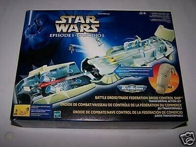 Star Wars - Micro Machines - Episode I - Battle Droid Trade Federation Ship Playset
