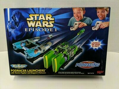 Star Wars - Micro Machines - Episode I - Podracer Launchers