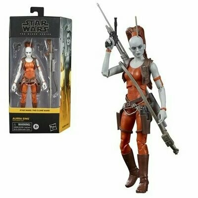 PREORDER 2021-09 Star Wars - The Black Series 6-Inch - Aurra Sing