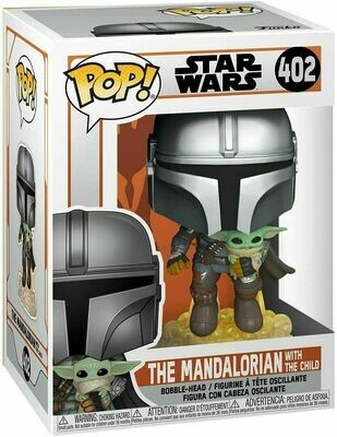 Pop ! Star Wars 402 - The Mandalorian with The Child