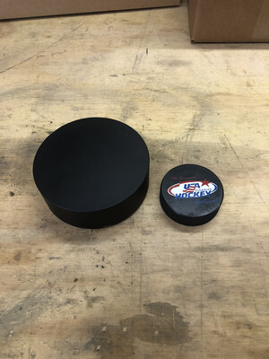 USA Blind Hockey Approved Puck
