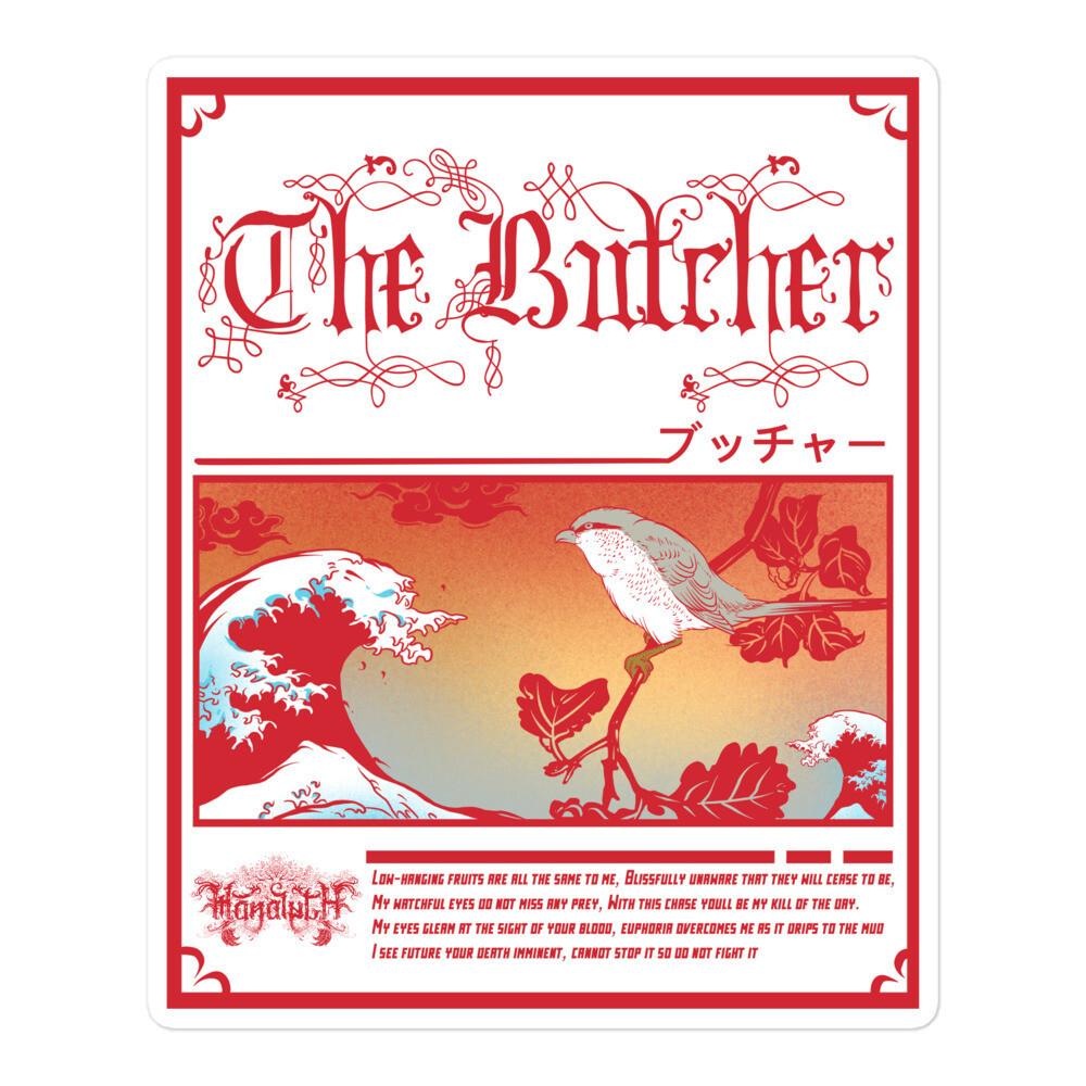 The Butcher Japanese Sticker