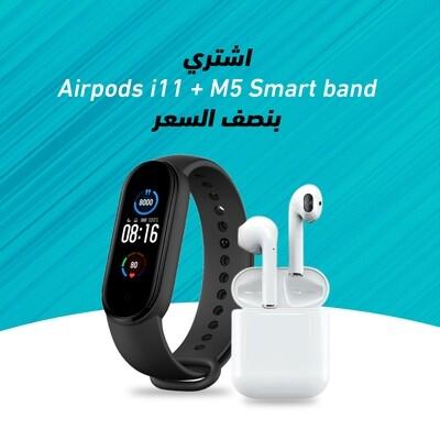 M5 Sports Bracelet + Airpods i11