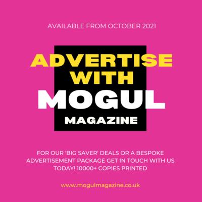 MOGUL MAGAZINE ADVERTISEMENT PACKAGE