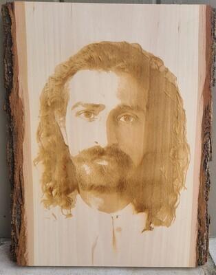 Laser Engraved Wood - Wall Hanging