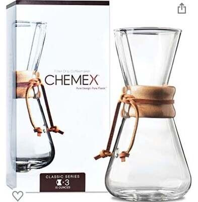 """Chemex"" Coffee Maker"