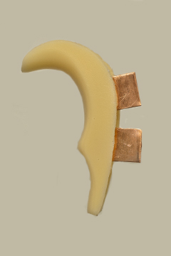 S&W J Frame Grip Adapter Ivory