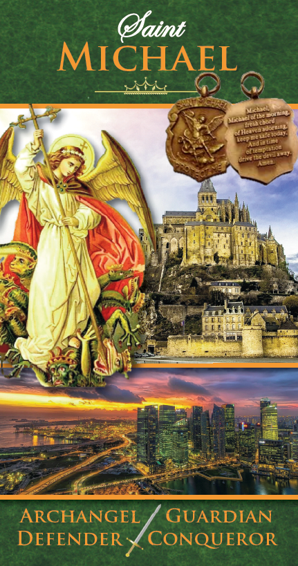 St Michael booklet and Medal
