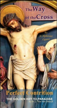 The Way of the Cross & Perfect Contrition Booklet