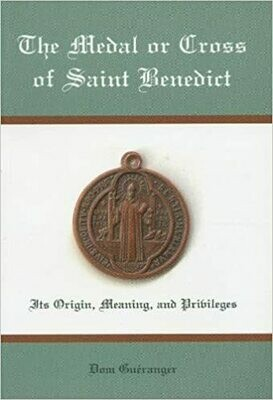Medal or Cross of St Benedict - Book