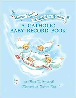 Catholic Baby Record Book - Boy