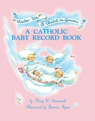 Catholic Baby Record Book - Girl
