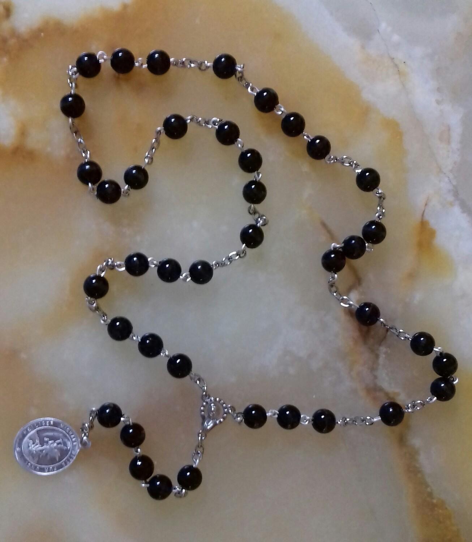 St Michael Chaplet - Black