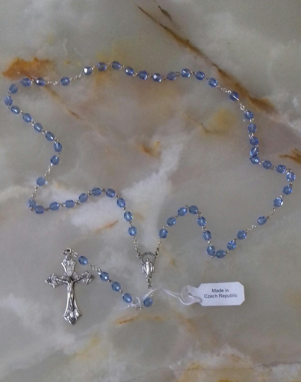 Sky Blue Rosary
