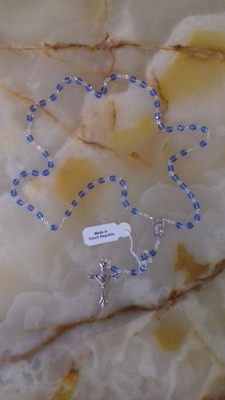 Light Blue Rosary