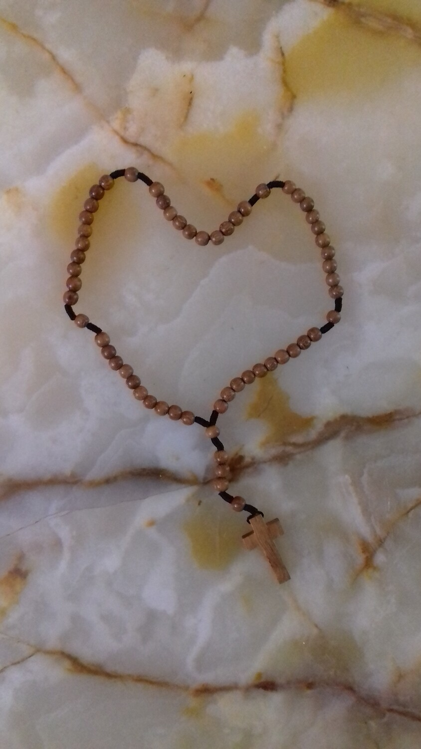 Little Wooden Rosary