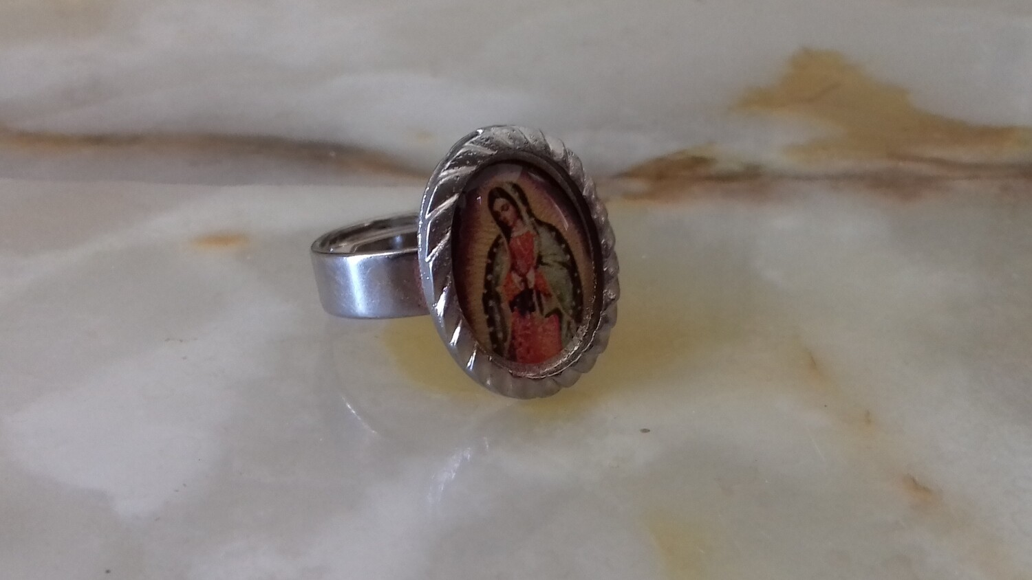 Ring with Our Lady of Guadalupe