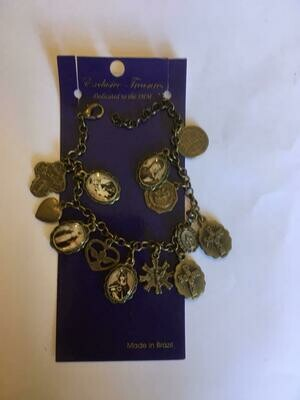Bracelet with medals