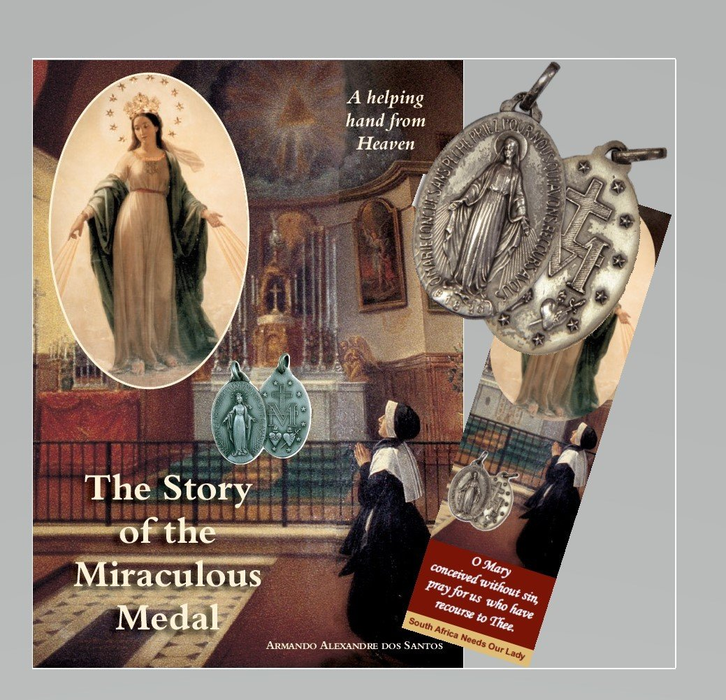 SPECIAL OFFER - The Story of the Miraculous Medal - with Free Medal and Bookmark
