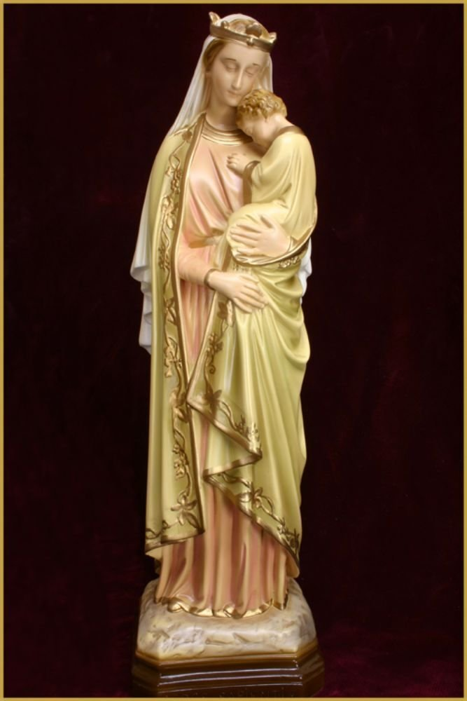 Our Lady Seat of Wisdom 44cm