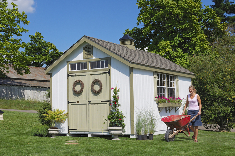 8x8 Williamsburg Colonial Shed