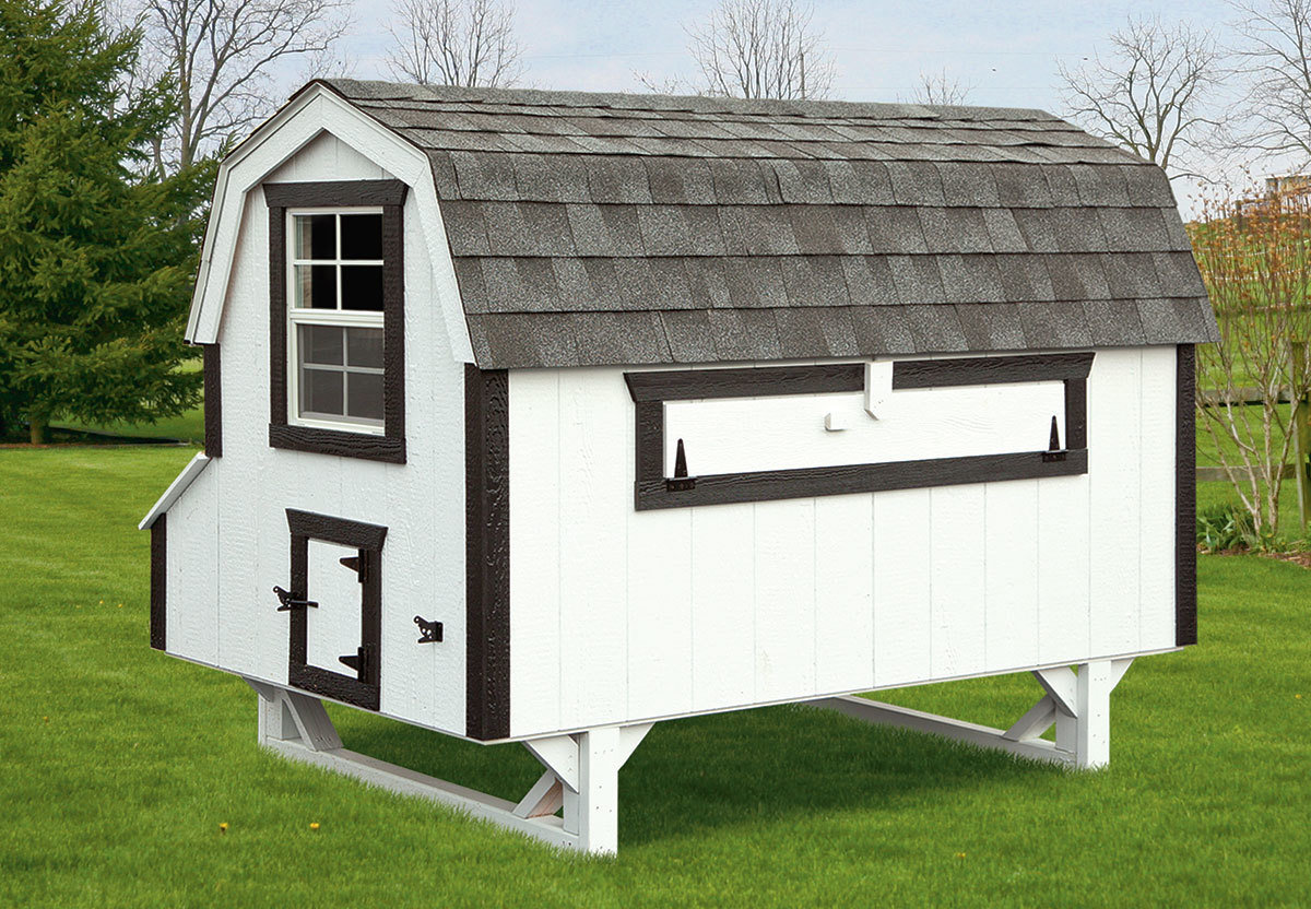 IHS Dutch Style 4x8 Coop