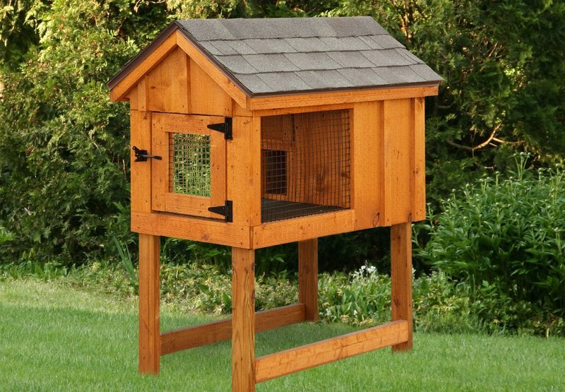 IHS 2x4 Single Rabbit Hutch