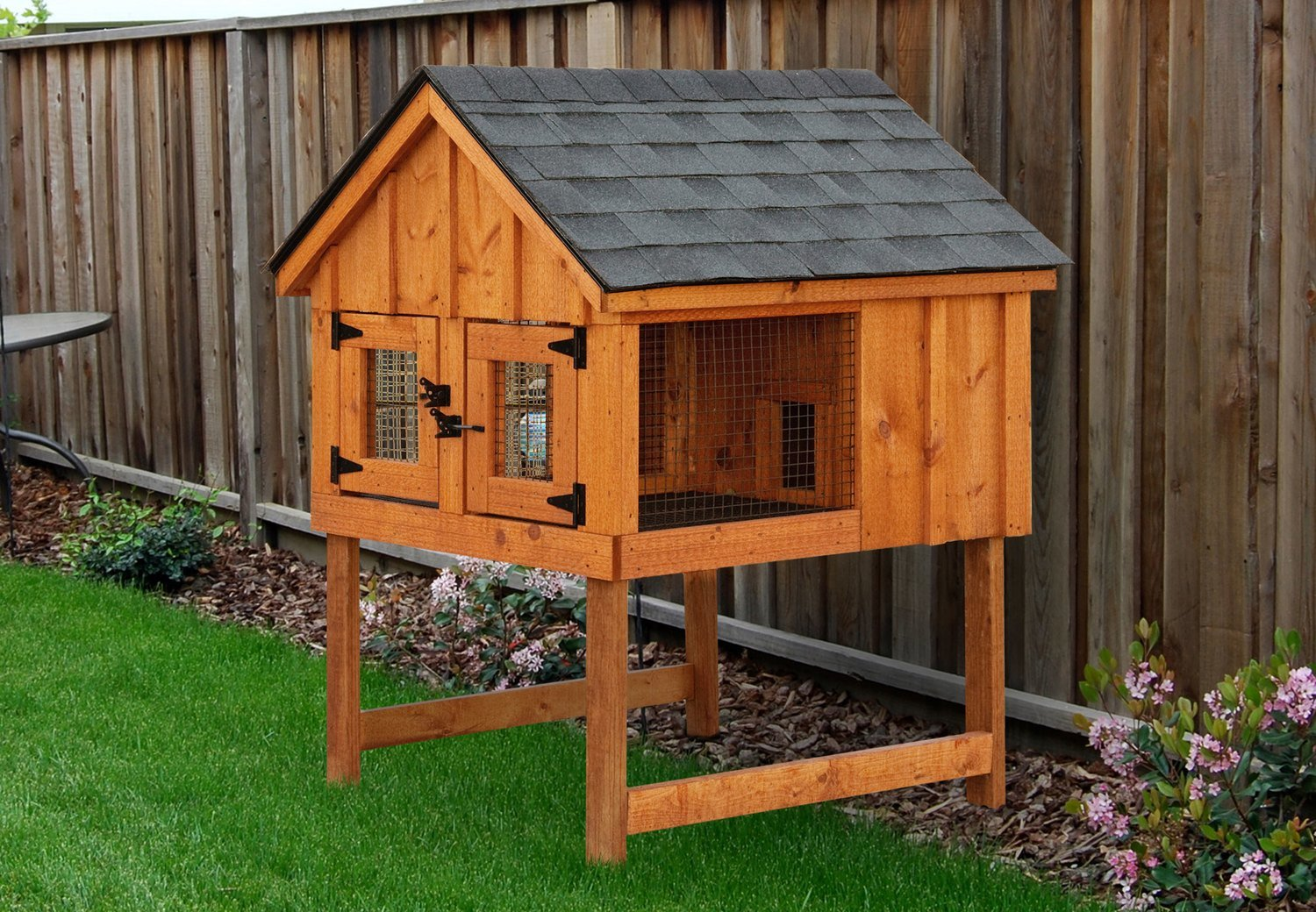 IHS 4x4 Double Rabbit Hutch