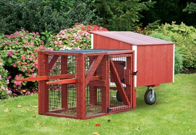 IHS Lean-To 3x4 Tractor Coop