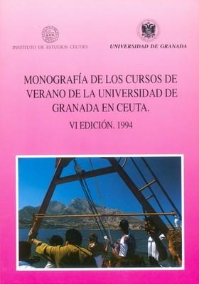 Monografía de los Cursos de Verano de la Universidad de Granada en Ceuta ( IV Edición. 1994)