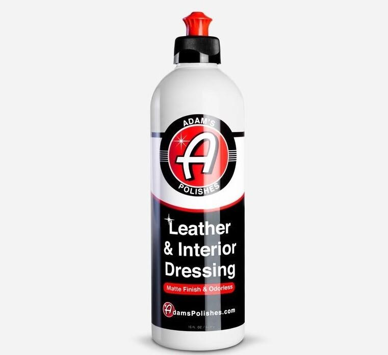 КРЕМ ДЛЯ  КОЖИ И ПЛАСТИКА САЛОНА,473мл / Adam's Leather & Interior Dressing 16 oz