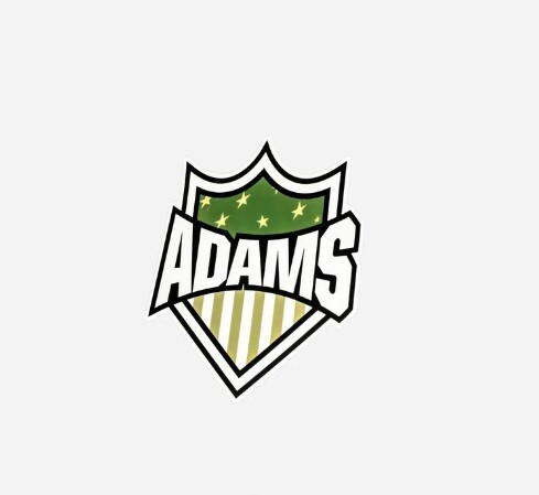 НАКЛЕЙКА / Adam's Green Badge Sticker