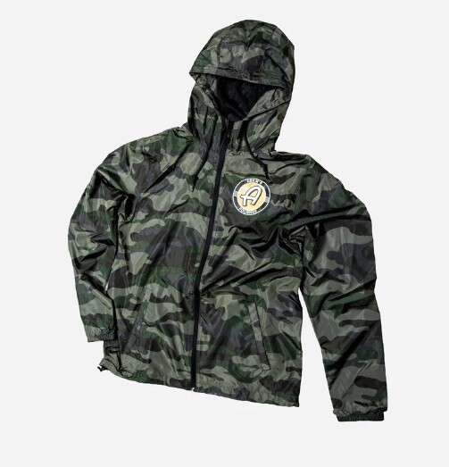 ВЕТРОВКА,РАЗМЕР S(46-48) / Adam's Camo Windbreaker