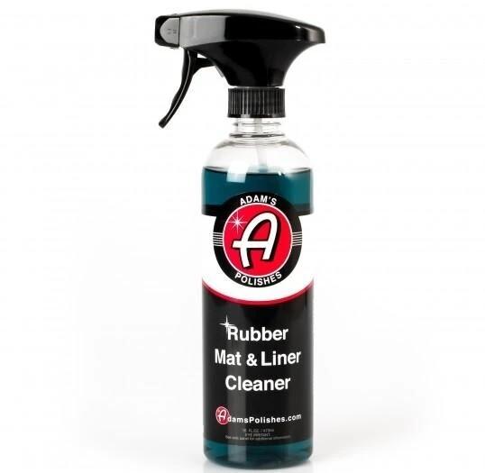 ОЧИСТИТЕЛЬ РЕЗИНОВЫХ КОВРИКОВ И НАКЛАДОК ПОРОГОВ, 473мл. / Adam's Rubber Mat & Liner Cleaner 16oz
