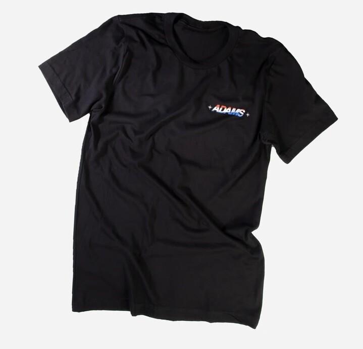 Adam's Black USA Logo Shirt L (50-52)