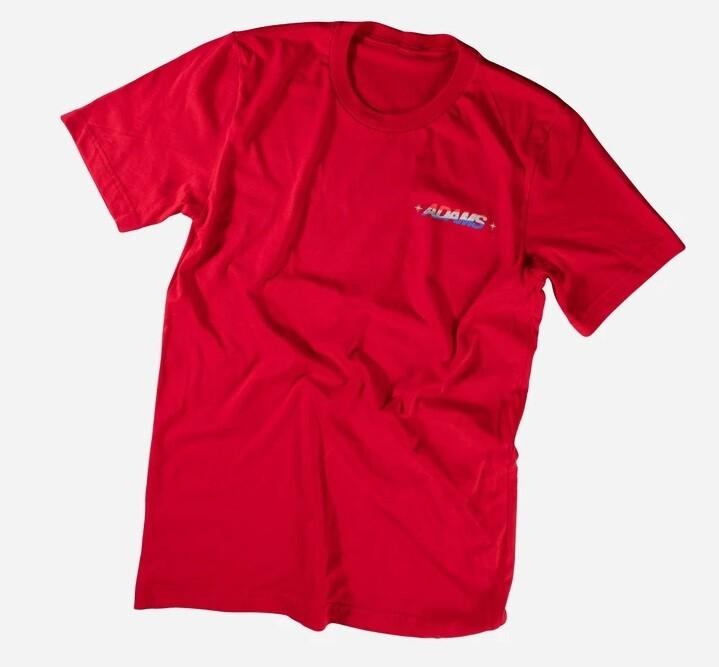 ФУТЮОЛКА Adam's Red USA Logo Shirt