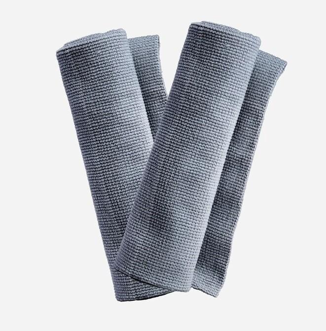 ПОЛОТЕНЦЕ ДЛЯ УБОРКИ С МЯГКИМ КРАЕМ, 40х40см. 2 PACK / Adam's Edgeless Utility Towel