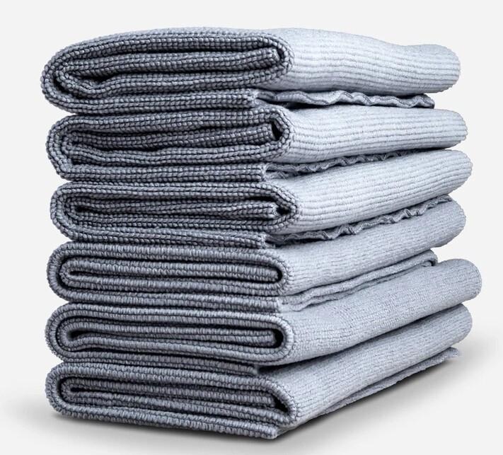 ПОЛОТЕНЦЕ ДЛЯ УБОРКИ С МЯГКИМ КРАЕМ, 40х40см. 6 PACK / Adam's Edgeless Utility Towel