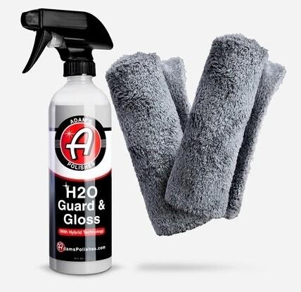 Комплект Adam's Basic H2O Guard & Gloss Kit