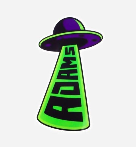 СТИКЕР / Adam's UFO Abduction Sticker