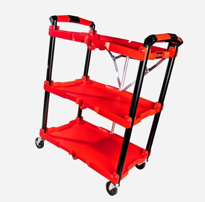 СКЛАДНОЙ СТОЛИК ТЕЛЕЖКА  / Adam's Foldable Garage Cart