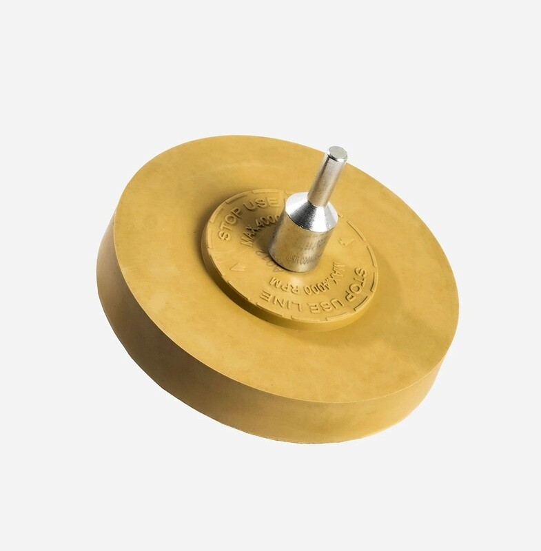 ДИСК-ЛАСТИК ДЛЯ УДАЛЕНИЯ СЛЕДОВ КЛЕЯ, СПЛОШНОЙ / Adam's Eraser Wheel - Solid