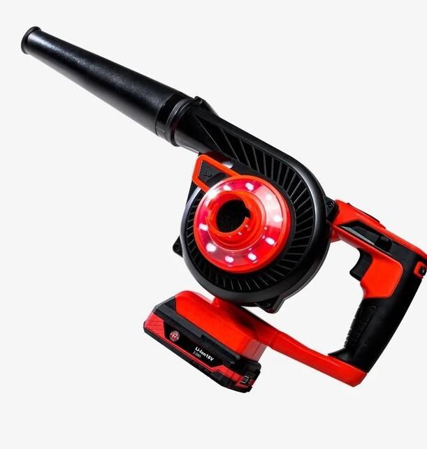 Аккумуляторная воздуходувка (+ пылесос) / Adam's Mini Air Cannon (Cordless Blower & Vacuum)
