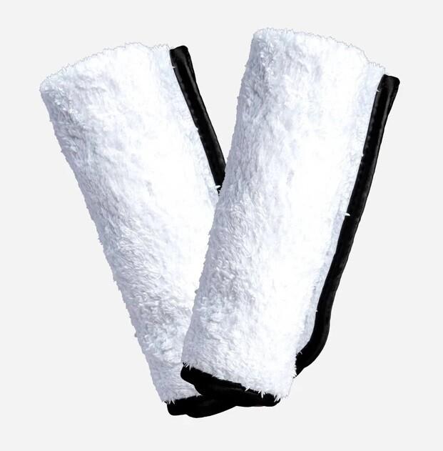 ПОЛОТЕНЦЕ ПЛЮШЕВОЕ, ОДНОСЛОЙНОЕ, 40х40см , 2 ШТ / Adam's Single Soft Towel, 2PACK