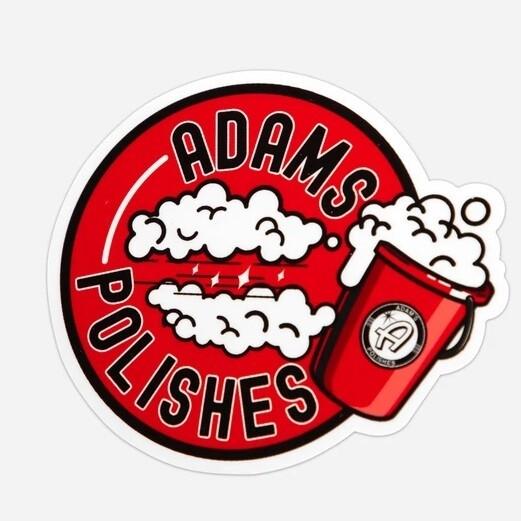 "СТИКЕР / Adam's 3.5"" Soapy Bucket Sticker"