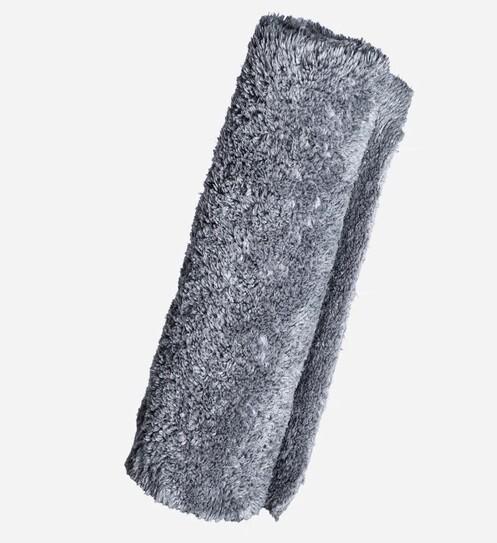 "ПЛЮШЕВОЕ ПОЛОТЕНЦЕ ""LITE"", СЕРОЕ,БЕЗ КРАЕВ, 40х40см / Borderless Gray Lite Plush Towel"
